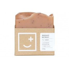 Fair + Square Rosehip Retreat Body Soap