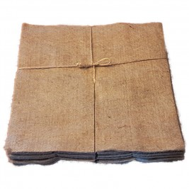 Eco Jute Mulch Mats, Pack of 10