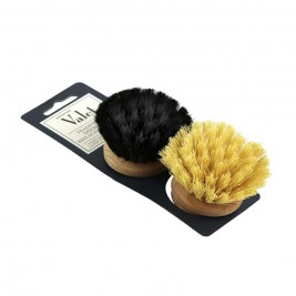 Replacement Head, Wooden Dish Brush, 50mm, Plant Fibre
