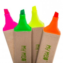 Recycled Highlighter, Pack of 4
