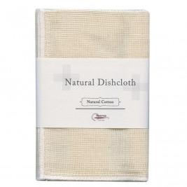 Natural Dish Cloth, 100% Cotton